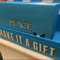 Children's Place Gift Box Merchandising