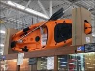 Do-It-Yourself Kayak Corrugated Display