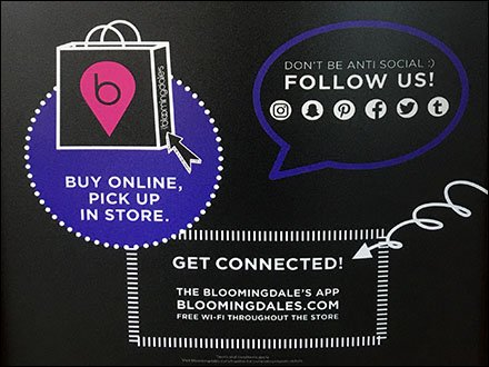 Bloomingdale's Invites Everyone To Connect Digitally