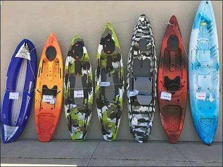 Gander Mountain Outdoors Kayak Sizing 1