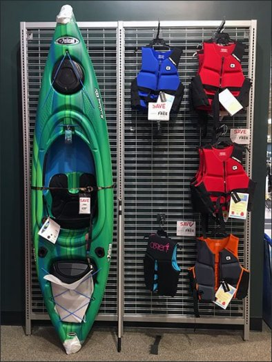 Kayak Lifejacket Slatwire Cross Sell 2