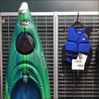 Kayak Lifejacket Slatwire Cross Sell