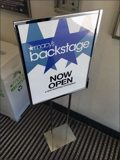 Macys Backstage Entry Door Invitation