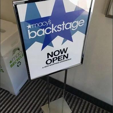 Macys Backstage Entry Door Invitation