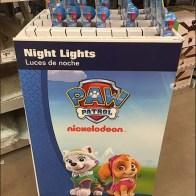 Nickelodeon Nightlight Paw Patrol Display