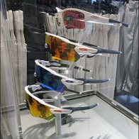 Oakley Sunglasses Crop-Top Museum Case Tower
