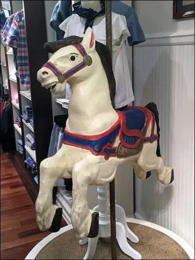Polo Ralph Lauren Carousel Pony Branding