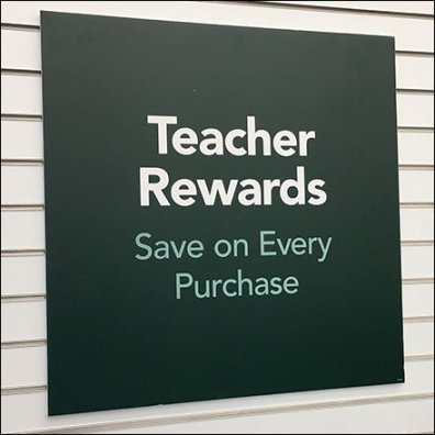 Teachers Rewards Save On Every Purchase