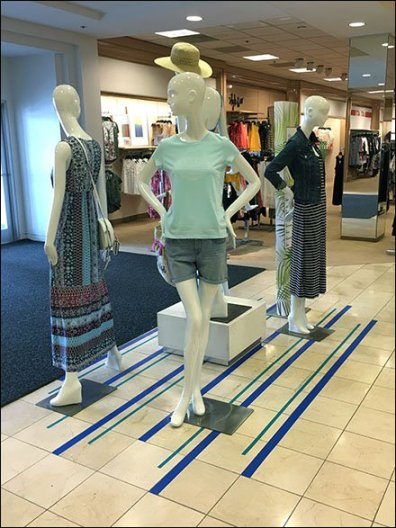 It List Theatre Blocking Visual Merchandising