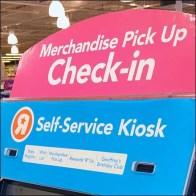 Self Service Kiosk For Merchandise Pick Up