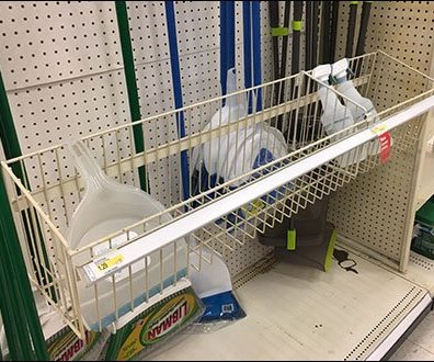 Wire Basket Extender For Mop and Broom