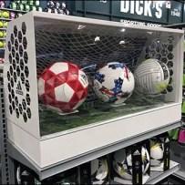 Adidas Ball Soccer Goal Museum Case