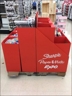 Back-To-School Sharpie and Papermate Display