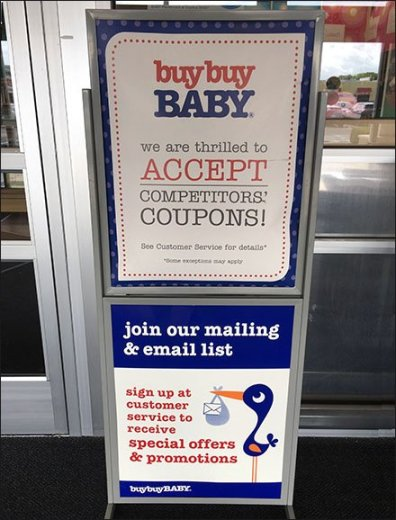 Buy Buy Baby Thrilled With Competitor Coupons