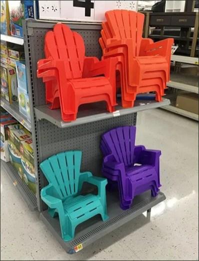 Adirondack Chair Endcap Merchandising