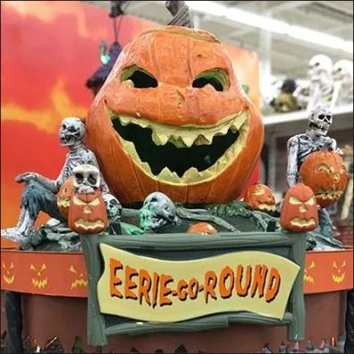 Eerie-Go-Round Halloween Merry-Go-Round