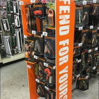 Fend For Yourself Gerber Knife Display