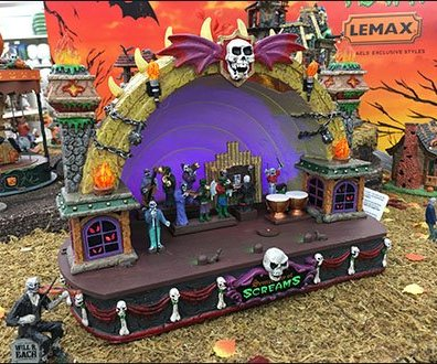 Symphony of Screams Halloween Bandshell Debut