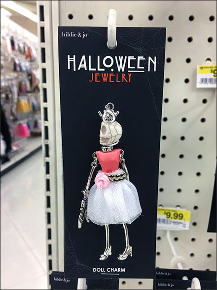 Halloween Fashion Jewelry Fashion Closeup