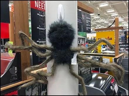 Halloween Spider Command Strip Anchor