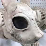 Halloween Rabbits Woodland Bones