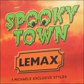 Spooky Town Countertop Panorama by Lemax