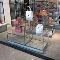 Neiman Marcus Chrome Display Table Intricacy