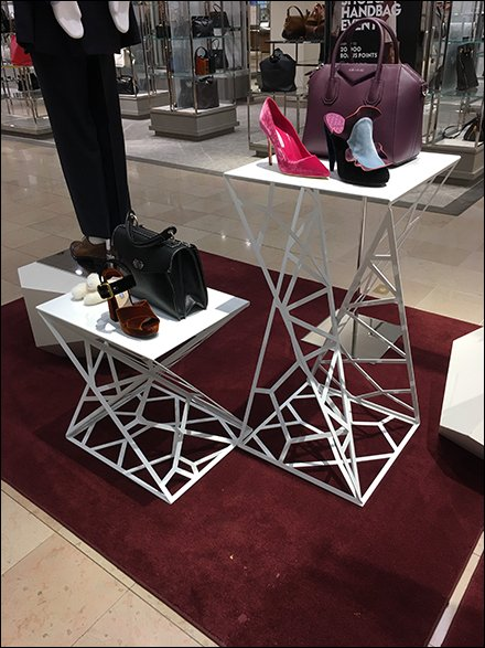 Neiman Marcus Structural Spiderweb Floor Table