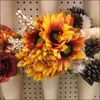 Pegboard-Mount Flower Vase Endcap