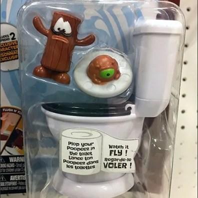 PooPeez Flip-Front Scan Hook Merchandising