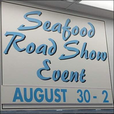 Seafood Road Show Event Promotion