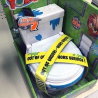 Selling Out-Of-Order Toilets At Shelf-Edge