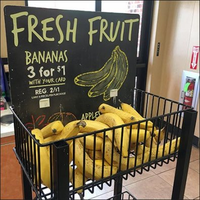 Fresh Fruit Grab and Go Triple Tower