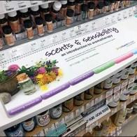 Spiral Bound Aromatherapy Guide At Shelf Edge