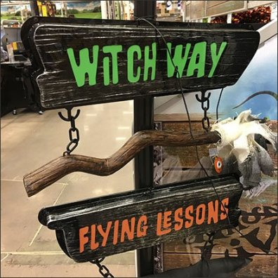 Witch Way To Flying Lessons Directional
