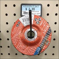 Grinding Wheel Custom Display Hook Design