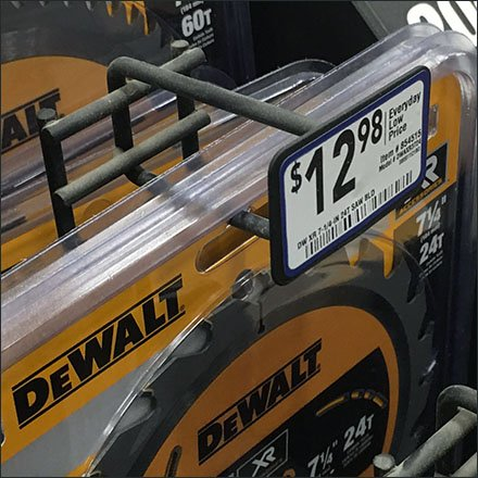 DeWalt Circular Saw Waterfall Hook Details