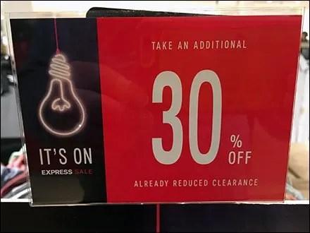 Lightbulb Sale Is On Sidebar Branding