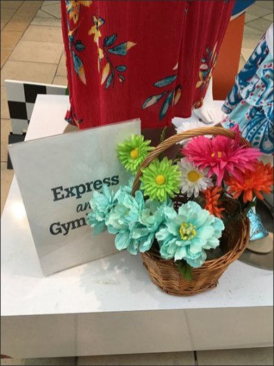 Express and Gymboree Mall Co-op Advertising 1