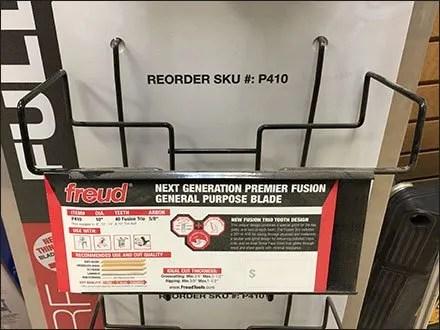 Circular Saw Blade Pegboard Tray by Freud