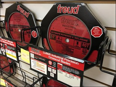 Circular Saw Blade Slatwall Tray by Freud