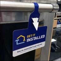 Die-cut Zip Tie Tag Offers Installation