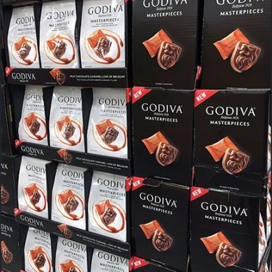 Godiva Chocolate Masterpieces Display