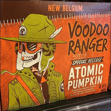 Halloween VooDoo Ranger Atomic Pumpkin