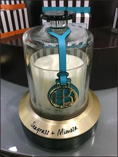 Henri Bendel Branded Candle Island