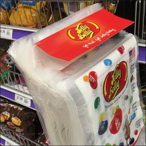 Jelly Belly Bag Dispenser For Shelf-Edge