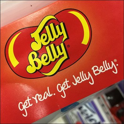 Jelly Belly Logo and Tag Line