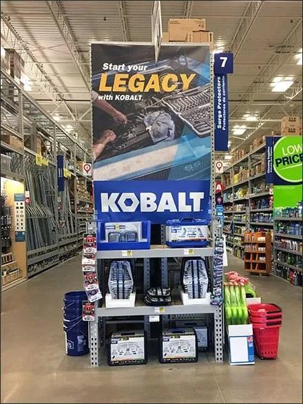Start Your Kobalt Legacy Banner Display