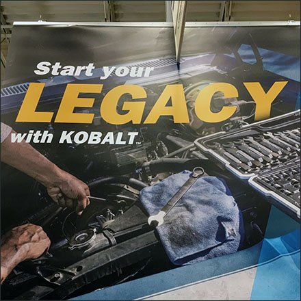 Kobalt Start Your Legacy Banner Display Feature