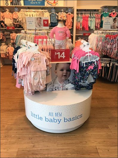 Little Baby Basics Circular Island Display